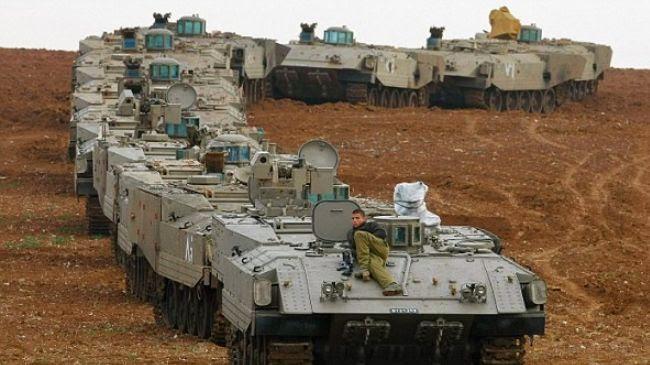 la-proxima-guerra-israel-prepara-una-invasion-terrestre-de-gaza-tanques-haciendo-cola-frente-frontera