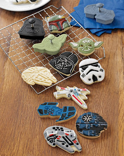 star wars cookie cutters of vehicles
