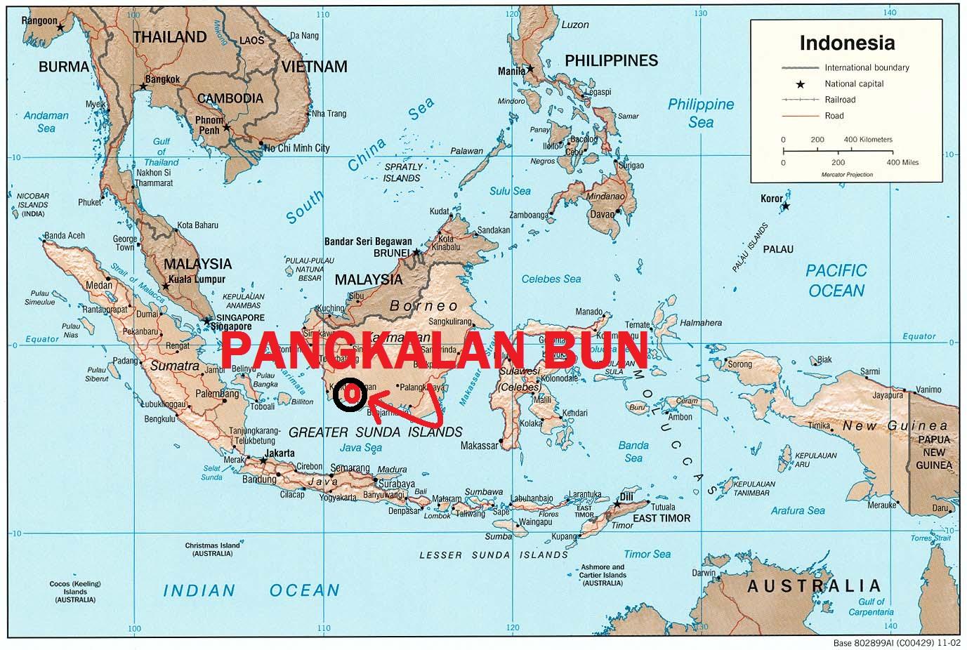 Arsyil_keren`s Blog: Kelebihan PANGKALAN BUN, Kota Cocok Menjadi.