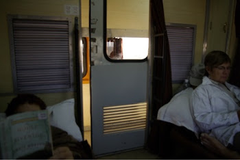 INDIA 2011: Inside our AC1 sleeper class train