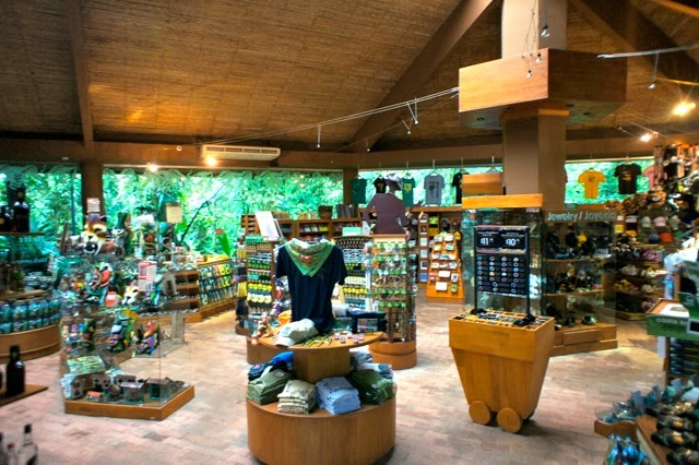 Rainforest Adventures Gift Shop