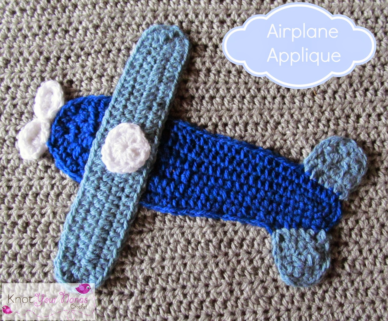 Crochet-Airplane-Applique