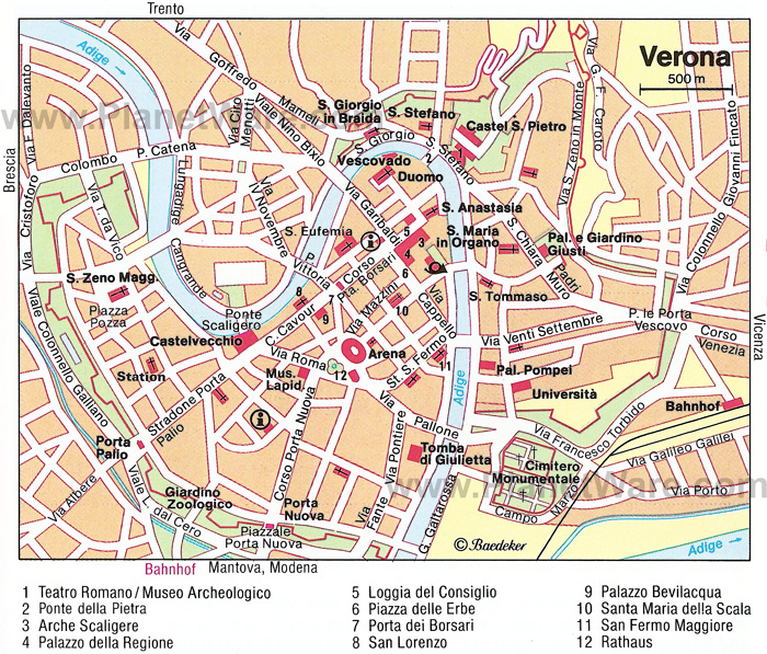 Verona City Tour Train