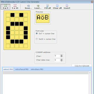 TUTORIAL: Escrevendo um carácter customizado no LCD