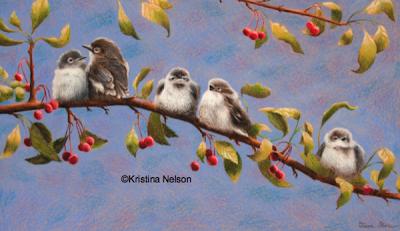 Kristina Nelson crayon artist