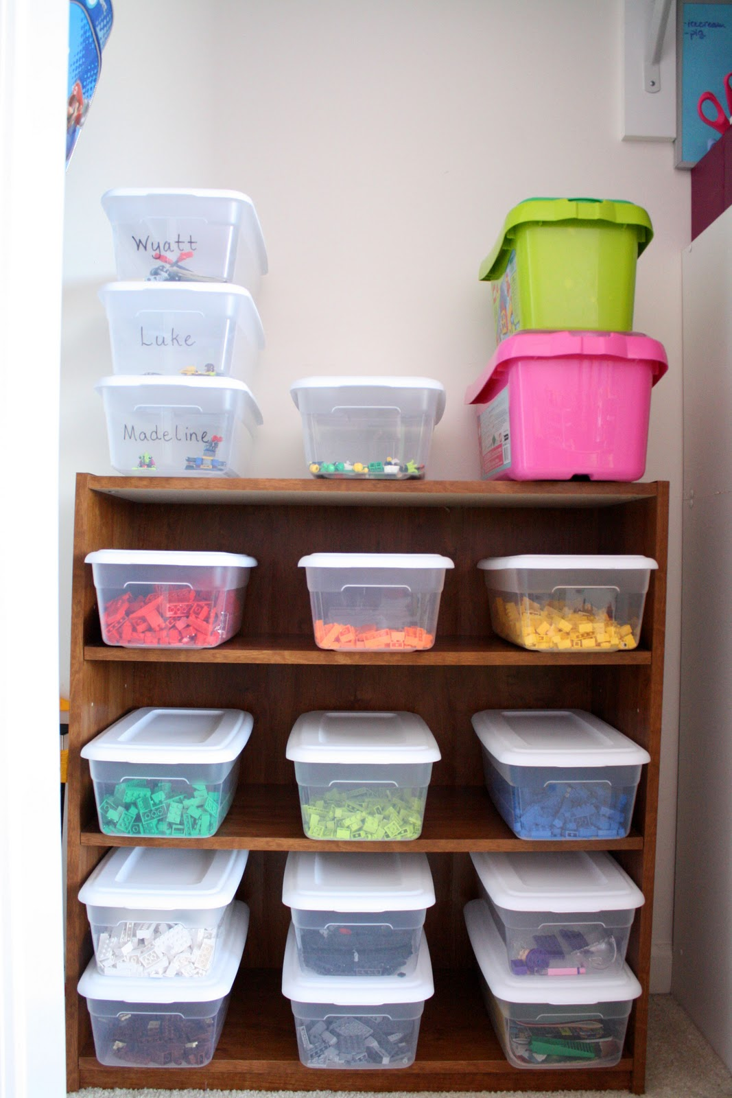 room6 Lego and AG Doll Storage
