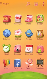 Screenshots of the Sweet love for Android tablet, phone.