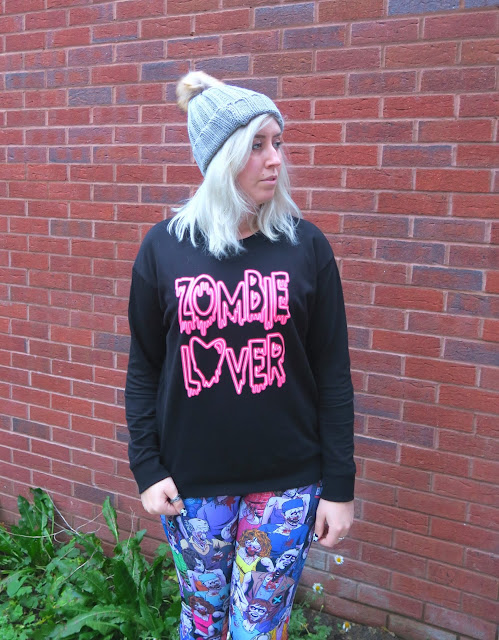 #OOTD Zombie Leggings by Black Milk Clothing