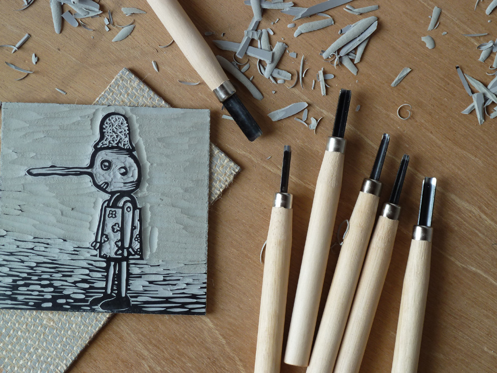 Linocut Tool Sets Available Here