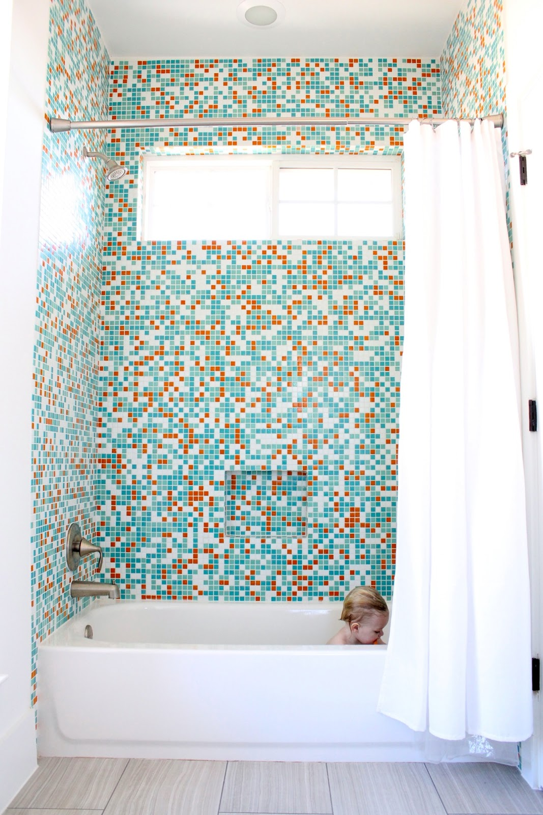 Building a new home: Mosaic tile and Wallpaper! – MADE EVERYDAY