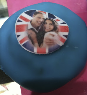 Prince William and Catherine Middleton, Royal Wedding cupcake
