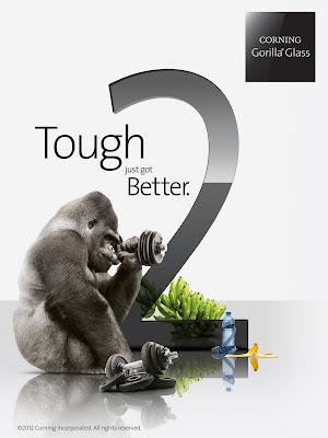 La dureza del nuevo Gorilla Glass 2 puesta a prueba