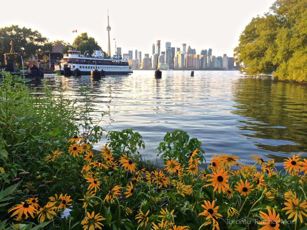 Toronto skyline - Centre Island