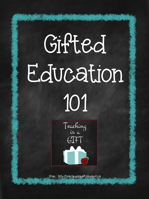 Photo of Gifted Education 101 Differentiation through product Teachingisagift