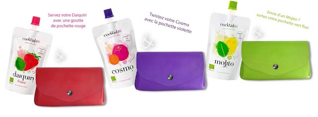 3 lots duo Pochette colorée & cocktail ultravitaminé