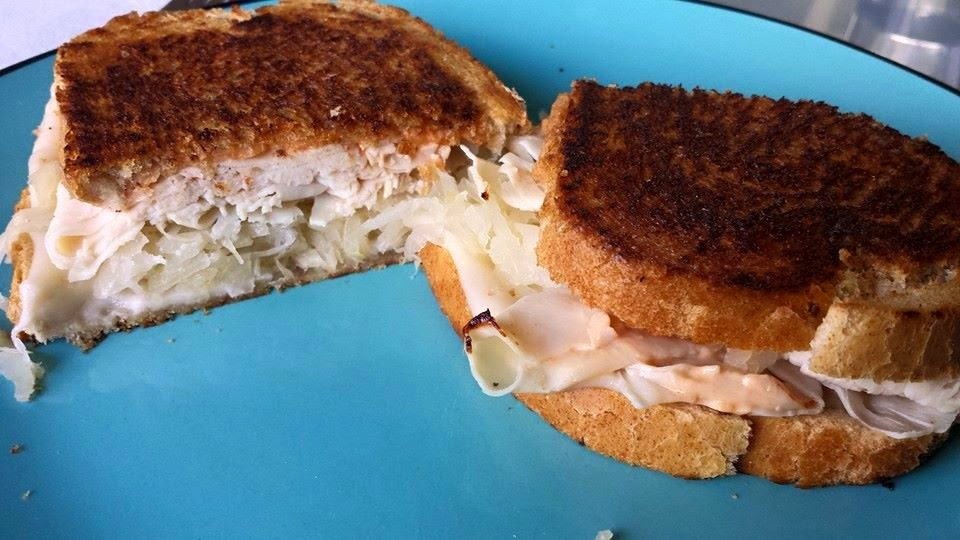 step by step rachael sandwich