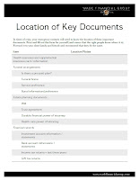 Download our checklist of estate planning documents