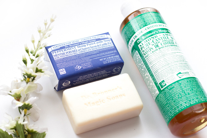dr bronners all in one castile soap peppermint almond review