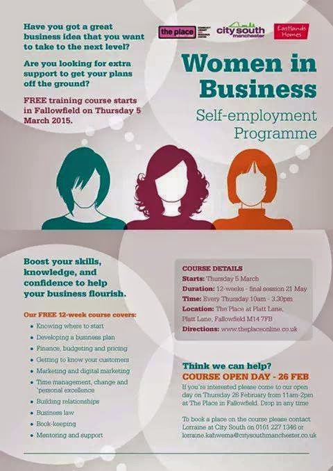 Ma Bicyclette: Self Employed | Women In Business Free Self-Employment Programme