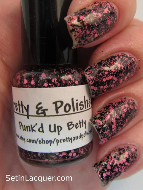 Pretty & Polished Punk'd Up Betty nail polish
