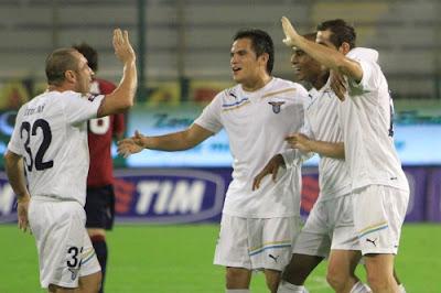 Cagliari Lazio 0-3 highlights sky