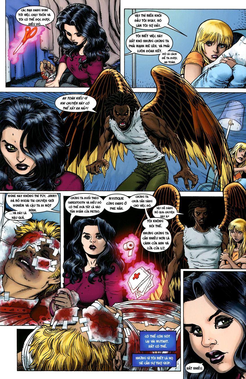 TruyenHay.Com - Ảnh 8 - Ultimate Comics X Chap 5