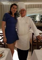 Momento  com o Chef JeanYves Poirey no Skylab Copacabana, Rio de Janeiro