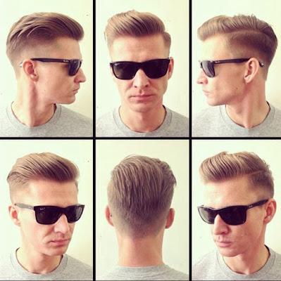 Gaya Rambut Pomade Keren Untuk Kaum Laki-Laki