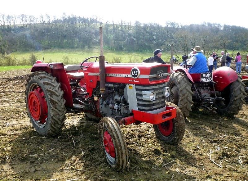 Massey 175 Diesel : Tractores en taller el quot massey ferguson