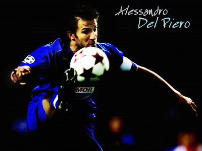 Alessandro Del Piero - Juventus FC HD Wallpapers