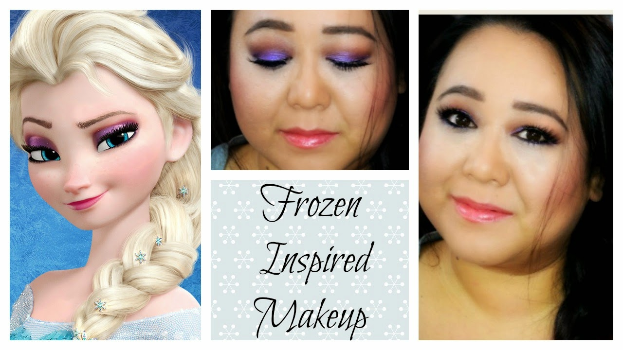 Makeupmaiworld frozen inspired makeup tutorial elsa frozen inspired makeup tutorial elsa baditri Image collections
