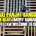 """Lelaki Panjat Bangunan Untuk Ucap """"Happy Ramadhan dan Untuk Felixia Yeap"""" (10 Gambar)"""