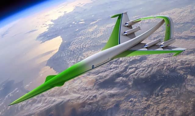 pesawat supersonik