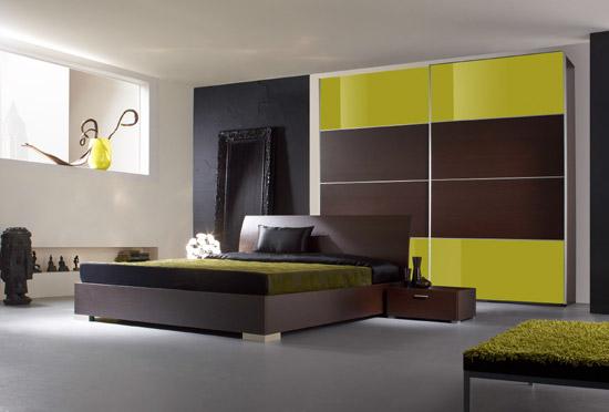 Habitaciones con estilo decoraci n de una habitacion moderna - Decoracion habitacion moderna ...