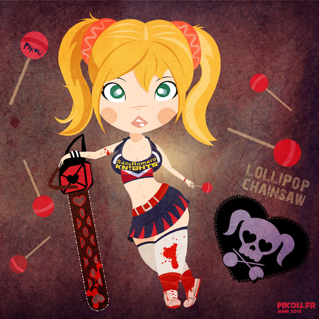 Lollipop Chainsaw por Pikou