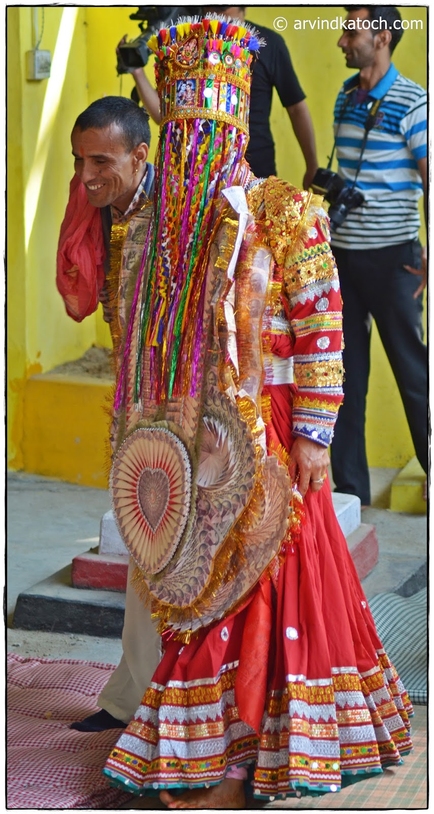 Kad, Groom, Taditional Wedding Dress, Gaddi, Himachali Culture,
