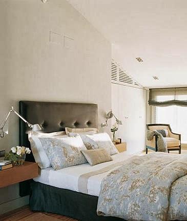 Apliques para la pared del cabecero - Apliques pared dormitorio ...