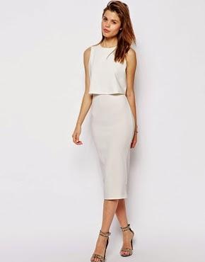Crop Midi Dress