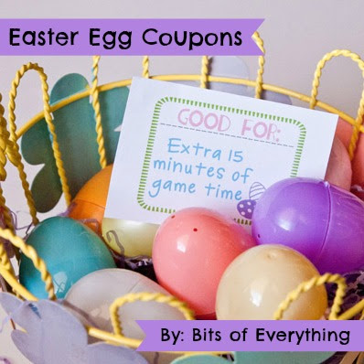 photo relating to Printable Candy Coupons identify Easter Egg Discount codes Totally free Printable Bits of Almost everything