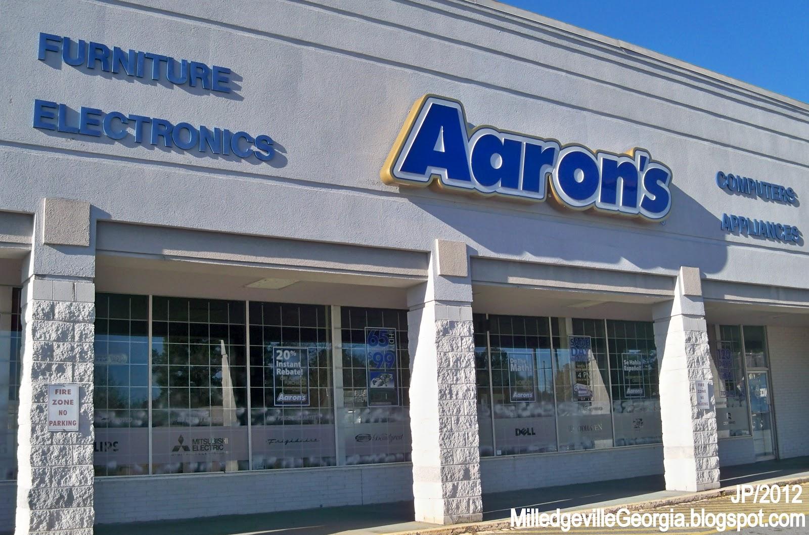AARONu0027S MILLEDGEVILLE GEORGIA N. Columbia St., Aaronu0027s Furniture  Electronics Appliance Store Baldwin County Milledgeville GA.