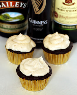 Irish Car Bomb Cupcake