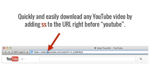 Download A Video Using A Url Trick