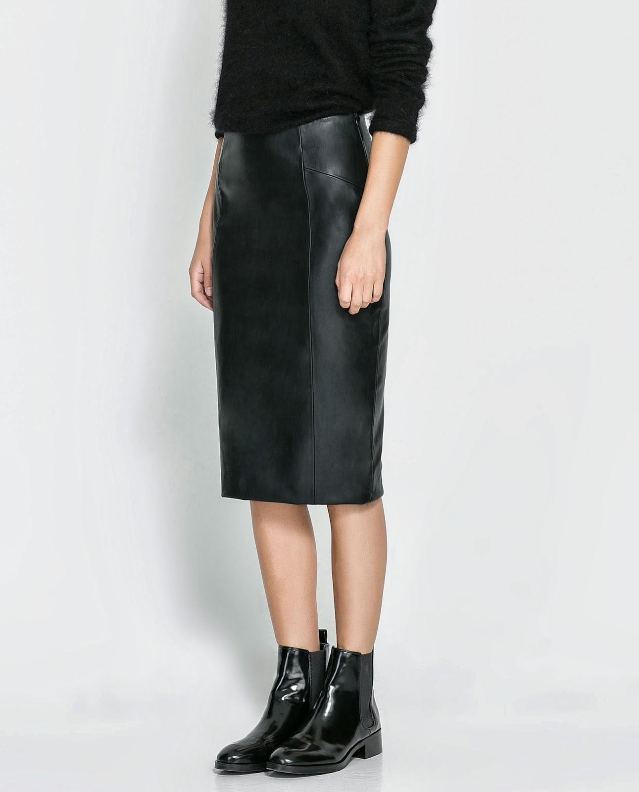 Кожаные юбки брендовые