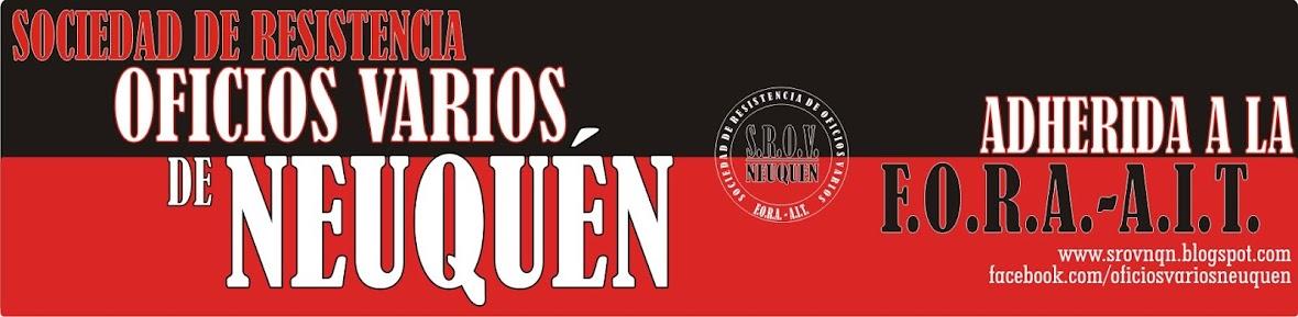 Sociedad de Resistencia Oficios Varios de Neuquén