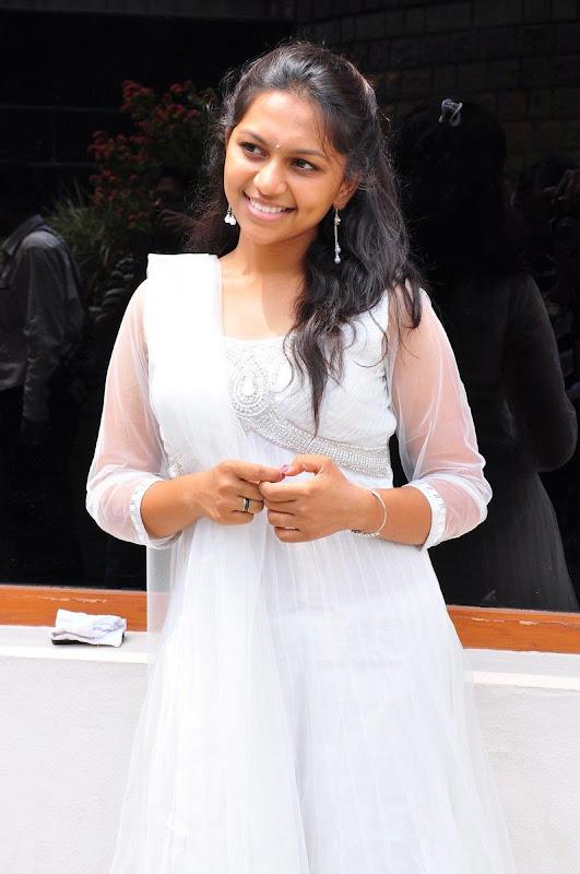 Sri  New Telugu Heroine PicsPhotos white dress unseen pics