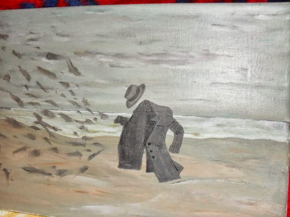 ulje na platnu-MAGIC-Vladisav Bogicevic slikar Luna-Nis