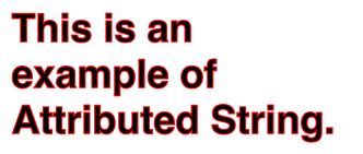swift  NSFontAttributeName has changed to String  Stack