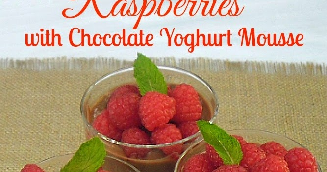 Cocoa Popovers With Chocolate Mousse And Raspberries Recipe ...