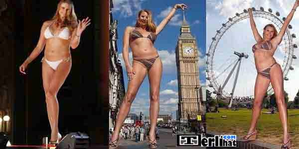 Super Model Wanita Tertinggi Di Dunia