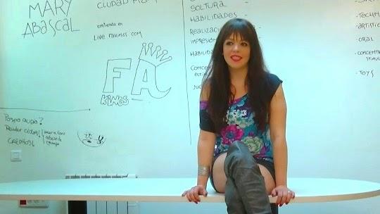Fakings, ¡Tú si que vales! (versión porno). Delirante casting a Mary Abascal que se convierte en una audición porno. Vol. XVII